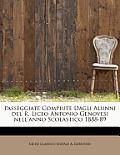 Passeggiate Compiute Dagli Alunni del R. Liceo Antonio Genovesi Nell'anno Scolastico 1888-89