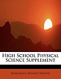High School Physical Science Supplement