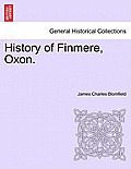 History of Finmere, Oxon.