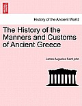 The History of the Manners and Customs of Ancient Greece Vol. II.