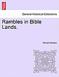 Rambles in Bible Lands.