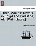 Three Months' Travels in Egypt and Palestine, Etc. [With Plates.]