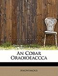 An Cobar Oraoioeaccca