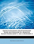 Gedachtnisfeier Der Universitat Wien Fur Weiland Se. Majestat Kaiser Franz Josef I. Am 2. Dezember 1