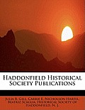 Haddonfield Historical Society Publications