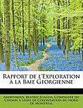 Rapport de L'Exploration La Baie Georgienne
