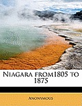 Niagara From1805 to 1875