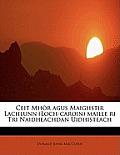 Ceit Mh R Agus Maighstir Lachlunn (Loch-Caroin) Maille Ri Tri Naidheachdan Uidhisteach