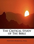 The Critical Study of the Bible