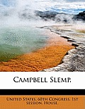 Campbell Slemp.