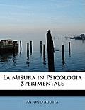 La Misura in Psicologia Sperimentale