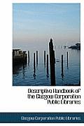 Descriptive Handbook of the Glasgow Corporation Public Libraries