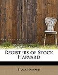Registers of Stock Harvard