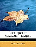 Recherches Micrometriques