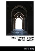 Roma Antica Di Famiano Nardini, Tomo IV