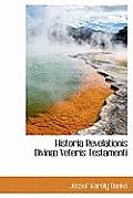 Historia Revelationis Divinae Veteris Testamenti