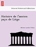 Histoire de L'Ancien Pays de Lie GE.