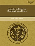 Analytic Methods for Diophantine Problems.