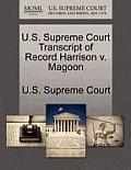 U.S. Supreme Court Transcript of Record Harrison V. Magoon