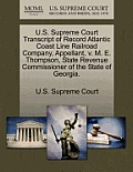U.S. Supreme Court Transcript of Record Atlantic Coast Line Railroad Company, Appellant, V. M. E. Thompson, State Revenue Commissioner of the State of