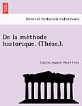 de La Me Thode Historique. (the Se.).