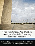 Transportation Air Quality Analysis Sketch Planning Methods: Volume 1
