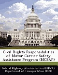 Civil Rights Responsibilities of Motor Carrier Safety Assistance Program (McSap)