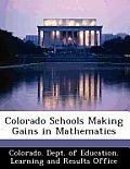 Colorado Schools Making Gains in Mathematics