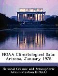 Noaa Climatological Data: Arizona, January 1978