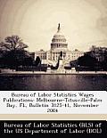 Bureau of Labor Statistics Wages Publications: Melbourne-Titusville-Palm Bay, FL, Bulletin 3125-41, November 2004