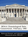 Noaa Climatological Data: Connecticut, February 1987