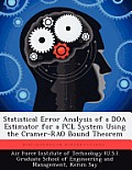 Statistical Error Analysis of a DOA Estimator for a Pcl System Using the Cramer-Rao Bound Theorem