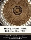Headquarters Press Releases Dec 1961