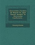 Exercitatio Juridica de Nepote EA, Quae Parens Accepit, in Universum Conferente...