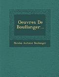 Oeuvres de Boullanger...