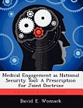 Medical Engagement as National Security Tool: A Prescription for Joint Doctrine