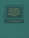 Tables Analytiques Et Raisonn Ees Des Matileres Et Des Auteurs: Pour La Nouvelle Edition de L'Histoire Naturelle de Buffon. H - R, Volume 2...