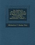 Des Faillites Et Banqueroutes: Suivi Du Titre de La Revendication En Matilere Commerciale, Et de Quelques Observations Sur La D Econfiture, Volume 1.