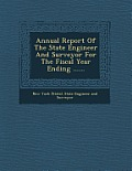 Annual Report of the State Engineer and Surveyor for the Fiscal Year Ending ......