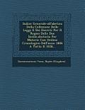 Indice Generale-Alfabetico Della Collezione Delle Leggi E Dei Decreti Per Il Regno Delle Due Sicilie, Distinto Per Materie Con Ordine Cronologico Dall