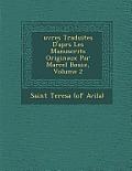 Uvres Traduites D'Apr S Les Manuscrits Originaux Par Marcel Bouix, Volume 2