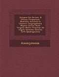 Zachaeus Seu Serium, & Efficax Propositum: Meditatio Instituta in Oratorio Congregationis Majoris Latinae Beate Virginis Matris Propitiae AB Angelo Sa
