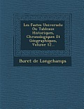 Les Fastes Universels: Ou Tableaux Historiques, Chronologiques Et Geographiques, Volume 12...