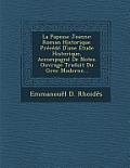 La Papesse Jeanne: Roman Historique. Precede D'Une Etude Historique, Accompagne de Notes. Ouvrage Traduit Du Grec Moderne...