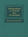 Schopenhauers Urteile Ber Aristoteles