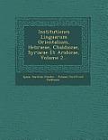 Institutiones Linguarum Orientalium, Hebraeae, Chaldaicae, Syriacae Et Arabicae, Volume 2...