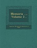 Memoria ..., Volume 2...