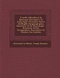Trait E G En Eral de Botanique Descriptive Et Analytique: Premilere Partie: Abr Eg E Dorganographie, Danatomie Et de Physiologie: Deuxileme Partie: Ic
