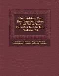 Nachrichten Von Den Begebenheiten Und Schriften Ber Mter Gelehrten, Volume 23