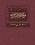 Inscriptionum Latinarum Selectarum Amplissima Collectio: Ad Illustrandam Romanae Antiquitatis Disciplinam Accommodata AC Magnarum Collectionum Suppl.